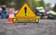 Five killed when A Marriage party Vehicle caught accident