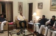 दिल्ली में शरद पवार के घर पर महाआघाडी की बैठक, सोनिया गांधी से होगी बाद में चर्चा