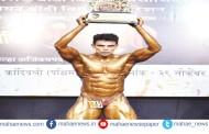 'नवोदित मुंबई-श्री' शरीरसौष्ठव स्पर्धेत बाल मित्र मंडळाचा गणेश उपाध्याय विजेता