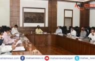 #WAR AGAINST CORONA: राज्य कॅबिनेट मंत्रीमंडळाची बैठक; जिल्हानिहाय घेतला आढावा