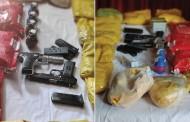 धक्कादायक! मोठी कारवाई, दहशतवाद्यांच्या दोन मदतनीसांना अटक, 65 कोटींचे ड्रग्स केले जप्त; 2 पिस्टल आणि 4 ग्रेनेडही सापडले