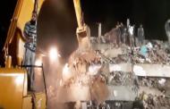महाडमध्ये 5 मजली इमारत कोसळली, बचाव पथकाचं काम युद्ध पातळीवर सुरु