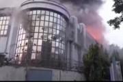 नोएडा येथील Sector 59 मध्ये इमारतीला भीषण आग