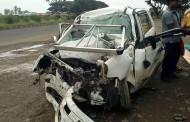 पुणे -सोलापूर महामार्गावरील तीन  भीषण अपघातात आठ जणांचा मृत्यू