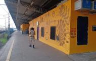 बोरीवली, मालाड सांताक्रूज रेल्वे स्टेशन्सचे पालटले रुप, स्थानकांवर रेखाटण्यात आली सुंदर चित्रे पहा...