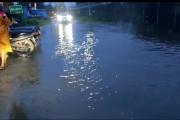 लष्करी हद्दीतून काटे-झिंजुर्डे मळा रस्त्यावर येणा-या पाण्याचा प्रश्न 'अधांतरीच'