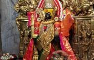 नवरात्रोत्सव : करवीरनिवासिनीची तृतीयेला 'पन्नगालयावरील म्हणजेच पन्हाळ्यावरील नागांना दर्शन' रुपात पूजा
