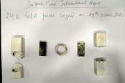 पुणे विमानतळावर दुबई वरून आलेल्या प्रवाशाकडून 7.89 लाखाच्या सोन्याच्या वस्तू जप्त
