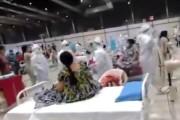 #Covid-19: मुंबईमधील कोविड सेंटरमध्ये आरोग्य कर्मचाऱ्यांचा रुग्णांसमोर गरबा डान्स