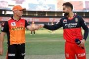 IPL2020: आज बंगळुरू आणि हैदराबाद यांच्यात सामना रंगणार