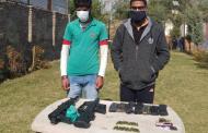 जम्मू-काश्मीर: हंडवारा येथील चिनार पार्क मध्ये तपासणी दरम्यान दोन जणांना अटक, दहशतावादी संघटनेसोबत काम करत असल्याचा आरोप