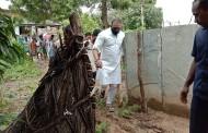 Cyclone Nivarमुळे फटका बसलेल्या भागात आँध्र प्रदेशचे मंत्री गौतम रेड्डी यांनी केला दौरा