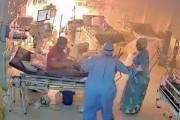 गुजरातमध्ये कोविड रुग्णालयाला भीषण आग; ५ जणांचा होरपळून मृत्यू