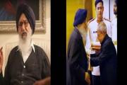 प्रकाश सिंह बादल यांचा पद्मविभूषण पुरस्कार परत करण्याचा निर्णय