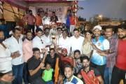 हिंदु-हदयसम्राट चषक हाफपीच क्रिकेट स्पर्धेत 'वीर जवान'ची बाजी