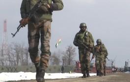 जम्मू-काश्मीरमध्ये कुपवाडा जिल्ह्यात हंदवाडा येथे भारतीय सैन्याकडून प्रजासत्ताक दिनाची तयारी सुरु