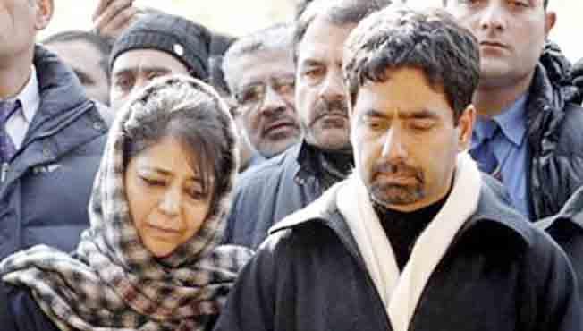 कठुआ बलात्कार : बीजेपी - पीडीपी गुन्हेगार ; मुफ्तींच्या भावाचा खळबळजनक आरोप
