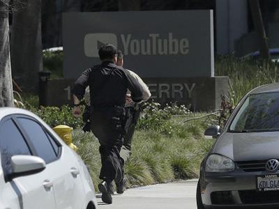 यु ट्यूबच्या मुख्यालयात गोळीबार