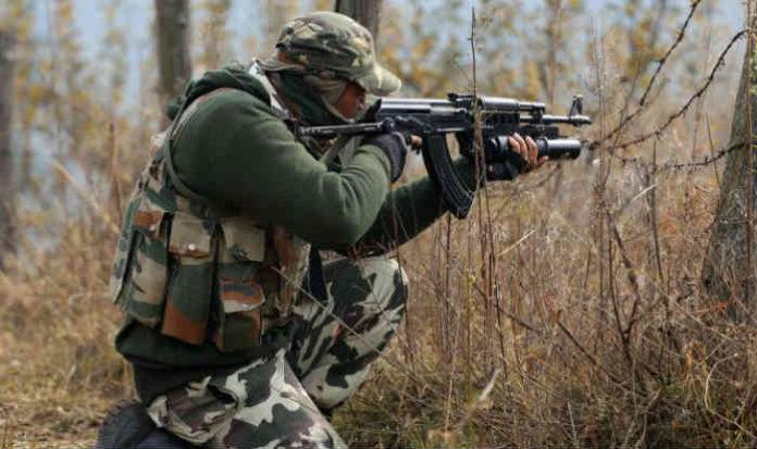 श्रीनगरमध्ये दहशतवादी आणि सुरक्षा पथकांमध्ये चकमक