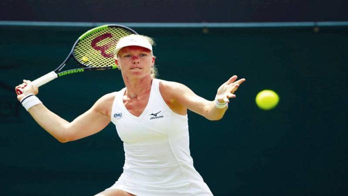 विम्बल्डन टेनिस स्पर्धा: किकी बर्टन्सचा प्लिस्कोव्हाला धक्का