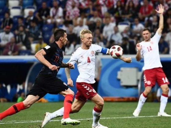 पेनल्टी शूटआऊटमध्ये क्रोएशियाची डेन्मार्कवर 3-2 ने मात