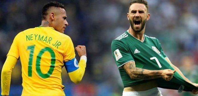 ब्राझिलचा मेक्सिकोवर २-० ने विजय