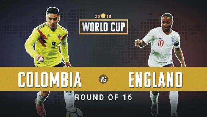 फिफा विश्वचषक : कोलंबिया आणि इंग्लंडमध्ये आज घमासान