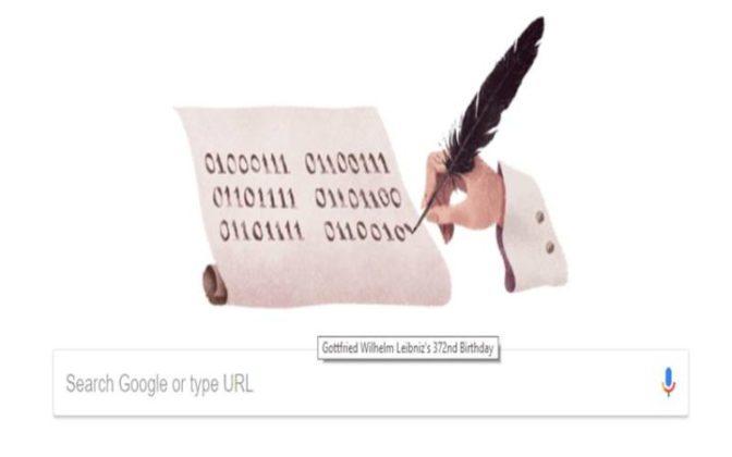 आजचे गुगल डूडल : गॉटफ्रिड विल्हेम लेबनीज