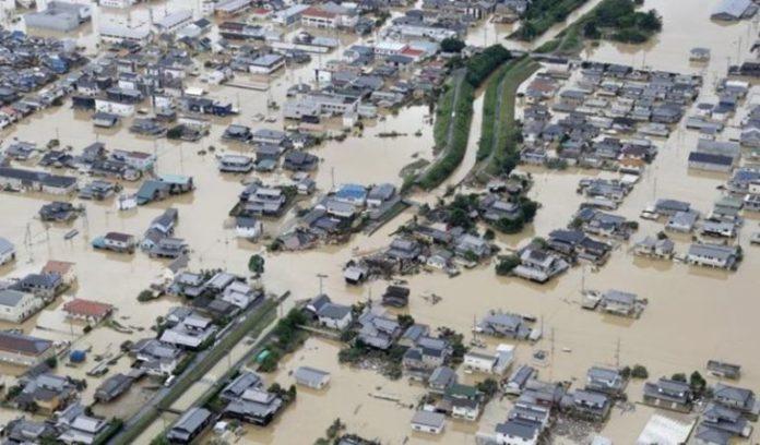 जपानमध्ये सलग तीन दिवस मुसळधार पाऊस