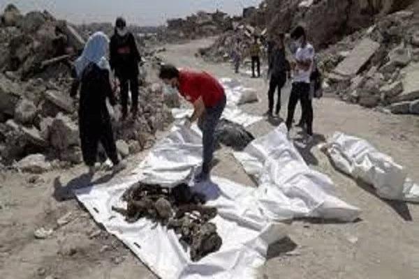 मोसूलमध्ये उध्वस्त इमारतींखाली सापडले 5,200 पेक्षा अधिक मृतदेह