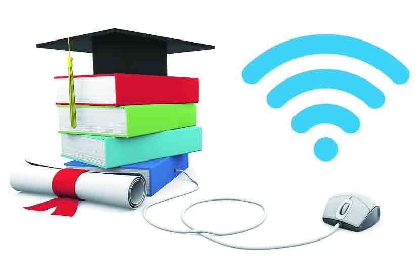 राज्यातील सर्व शाळांना  इंटरनेट, वायफाय देणार