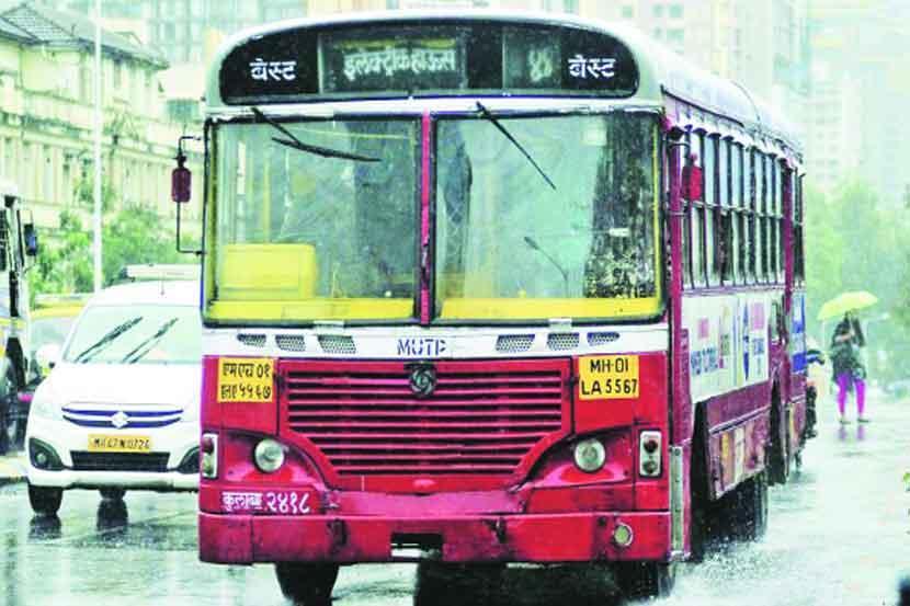 विक्रोळीत बेस्ट बसचा अपघात, २५ प्रवासी जखमी