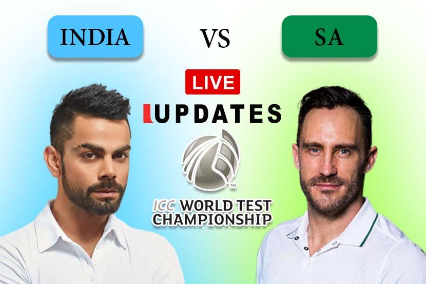 Ind vs SA 1st Test : दुसऱ्या डावात भारताकडे शतकी आघाडी