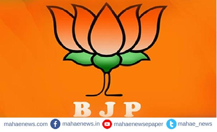 भाजप महाराष्ट्र प्रदेशाध्यक्षपदी पुन्हा चंद्रकांत पाटील