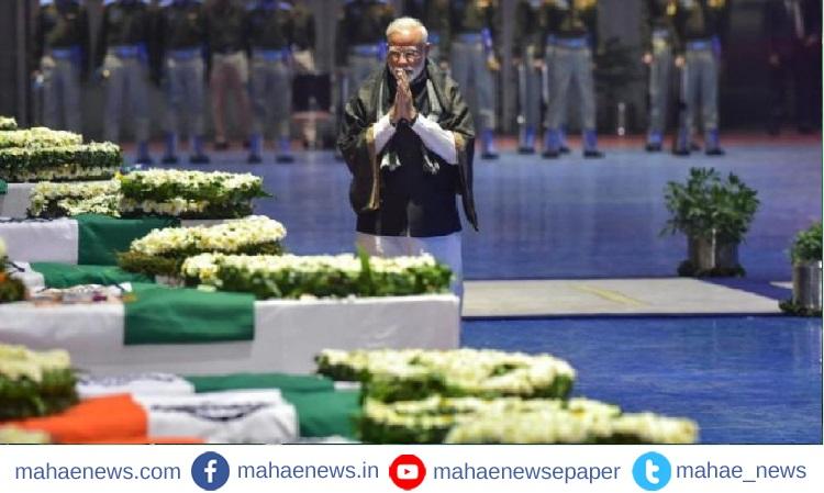 Pulwama Attack: शहिदांना पंतप्रधानांसह दिग्गजांनी वाहिली श्रद्धांजली